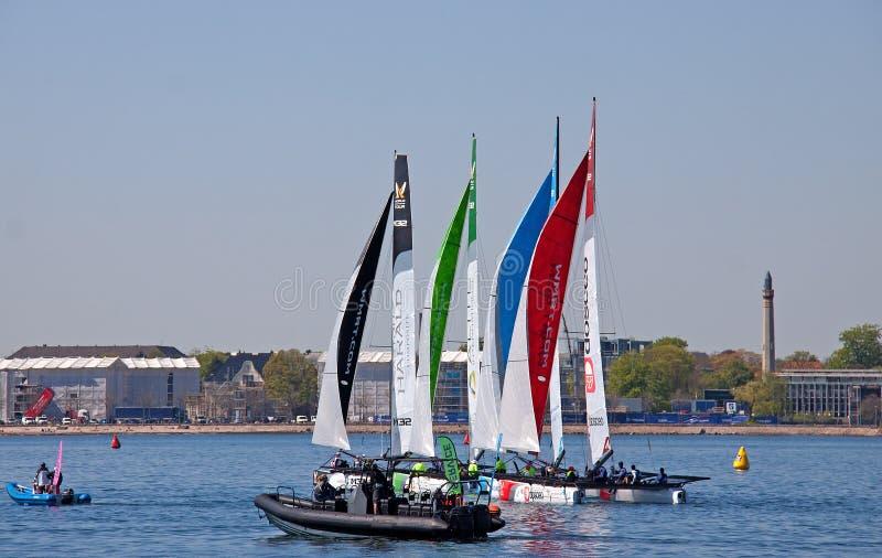 Sail, Waterway, Water Transportation, Sailboat stock photo