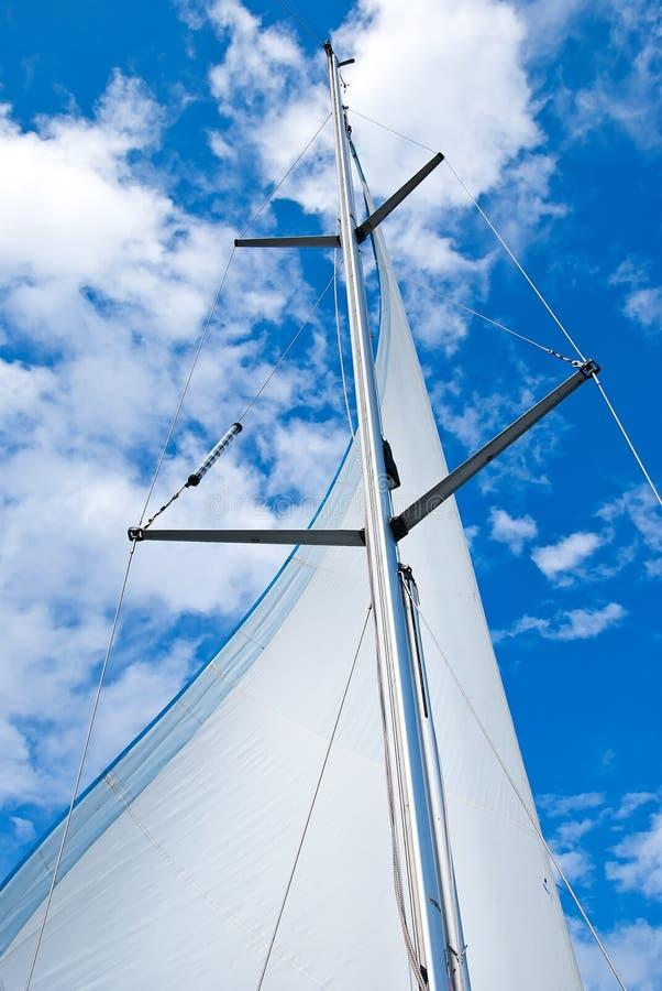 Free Sail Yacht Mast Royalty Free Stock Image - 39257106