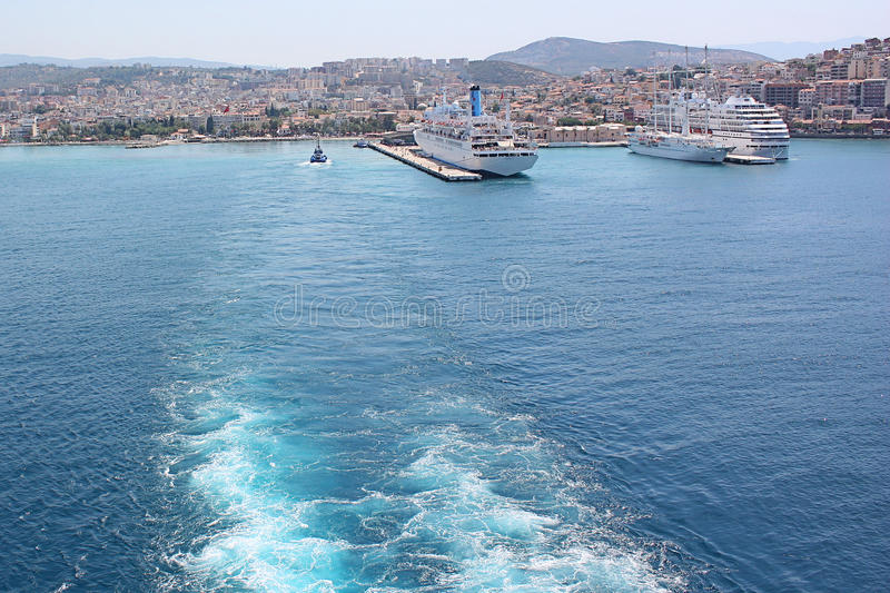 Download Sailaway From Ephesus stock photo. Image of excurions - 11820864