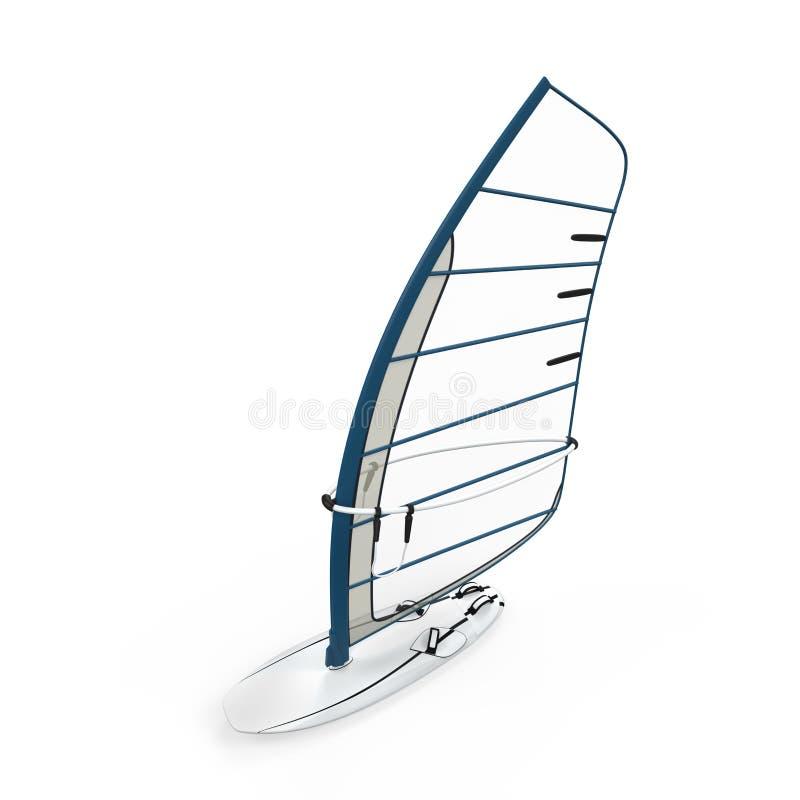 Sailboard  ilustração royalty free