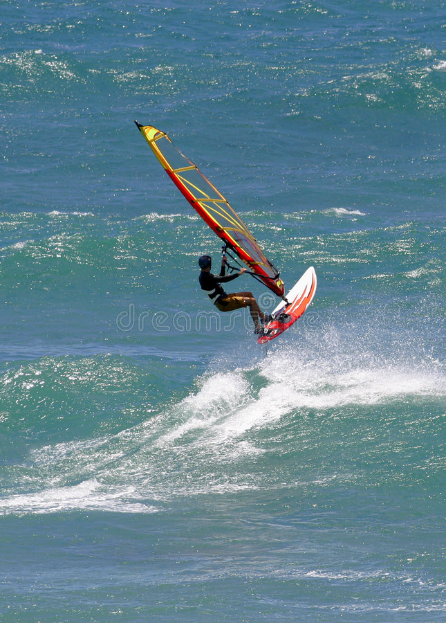 Free Sailboarding Windsurfing Action Sport Royalty Free Stock Image - 1139296