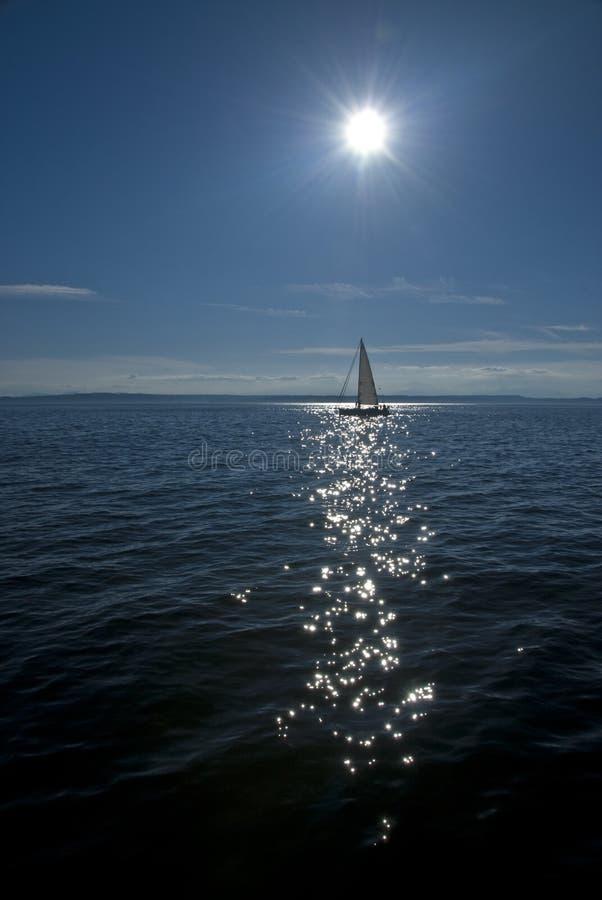 sailboat θάλασσα στοκ φωτογραφία με δικαίωμα ελεύθερης χρήσης