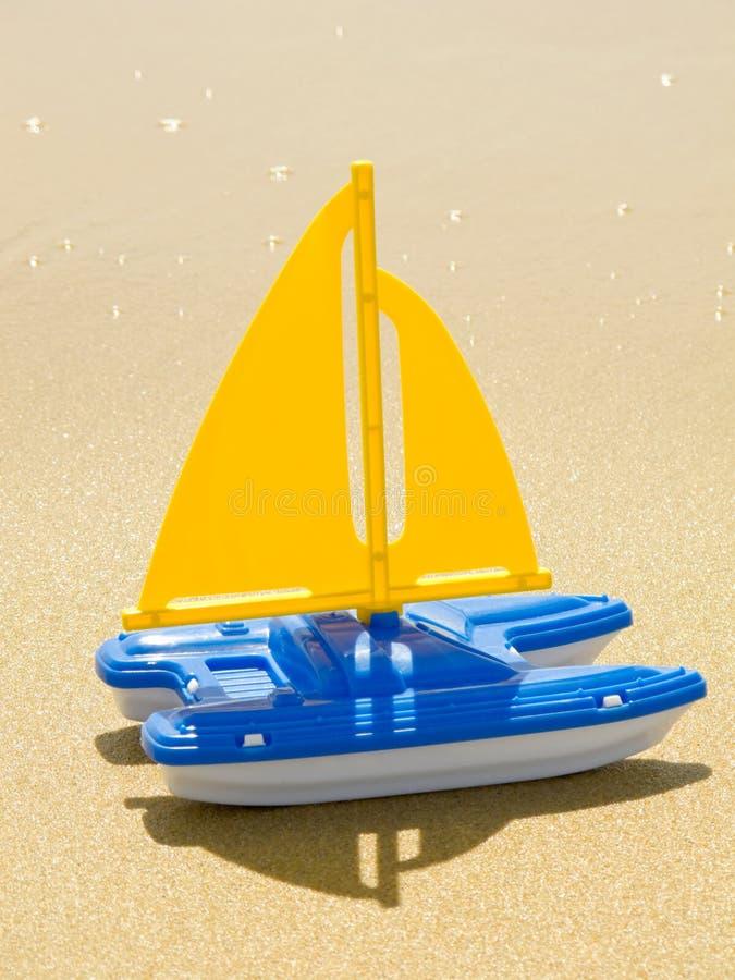 sailboat παιχνίδι στοκ εικόνες