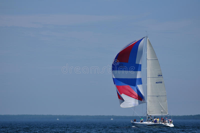 sailboat πανιών καλοκαίρι ναυσι&pi στοκ φωτογραφία