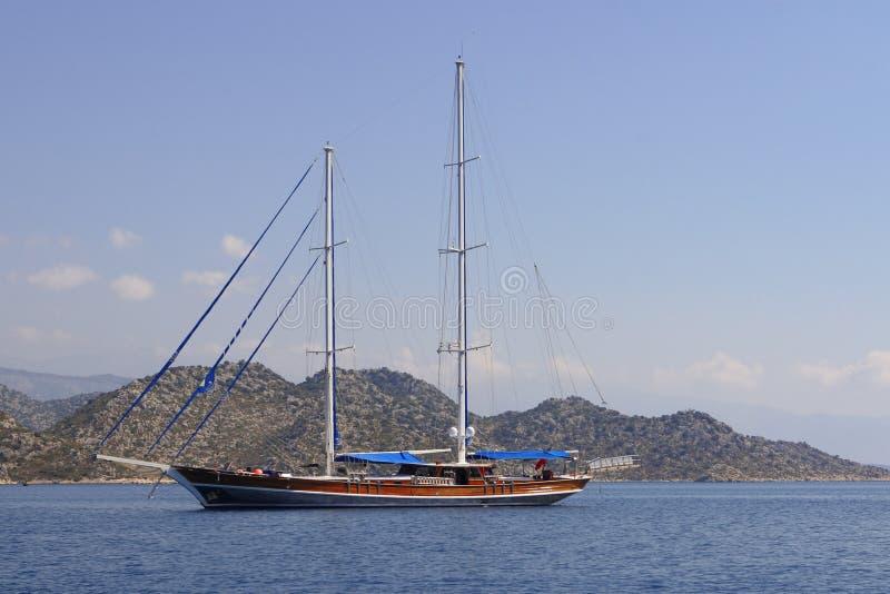 sailboat πανιών στοκ φωτογραφία