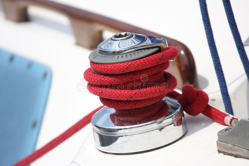 sailboat σχοινιών στοκ φωτογραφία με δικαίωμα ελεύθερης χρήσης