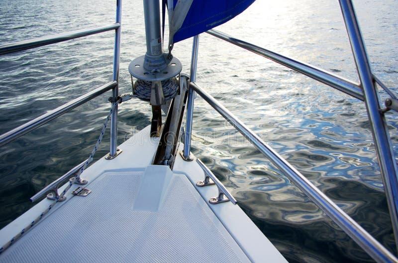 sailboat τόξων στοκ φωτογραφίες με δικαίωμα ελεύθερης χρήσης