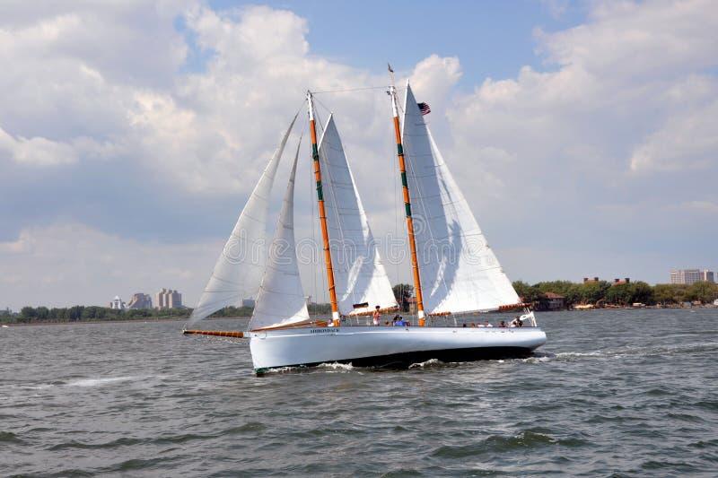 sailboat Υόρκη λιμενικού νέο nyc στοκ φωτογραφίες