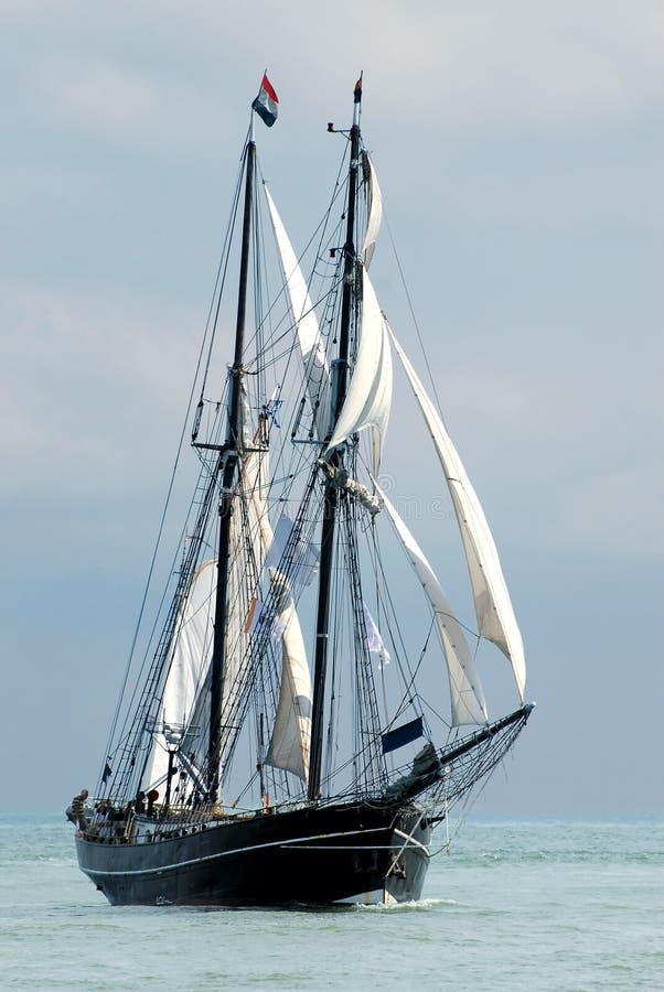 Download Sailboat imagem de stock. Imagem de baía, navio, velho - 10050541
