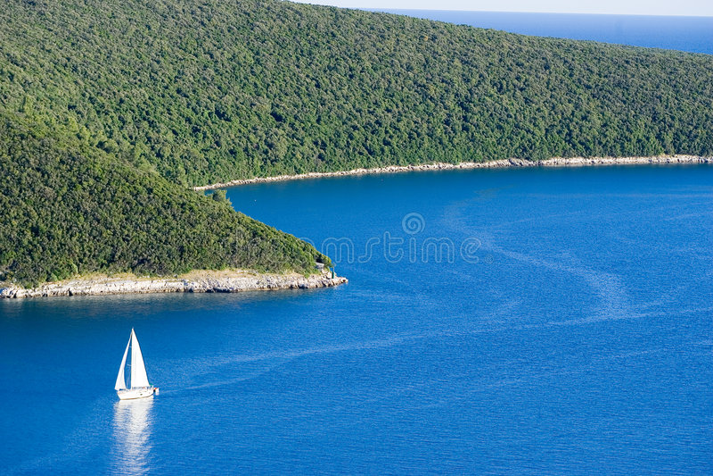 Sailboat royalty free stock photo