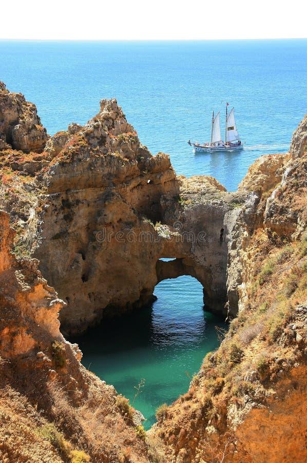 Download Sailboat foto de stock. Imagem de chandler, lagos, sailing - 12810698