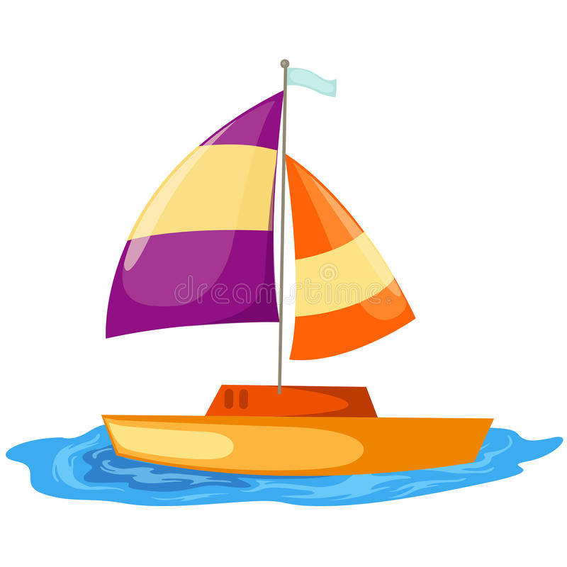 Download Sailboat stock vector. Image of freedom, sailing, sign - 14770425