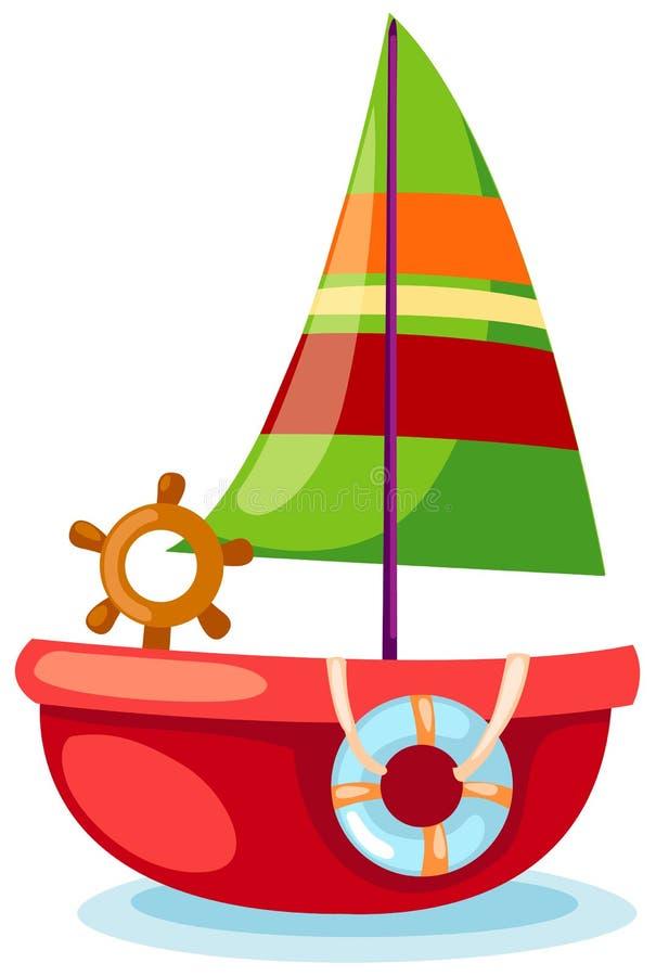 sailboat διανυσματική απεικόνιση