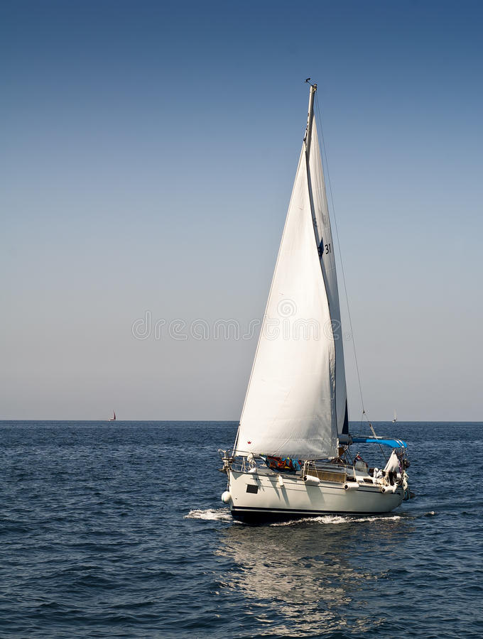 Download Sailboat stock photo. Image of trip, transportation, speed - 21634424