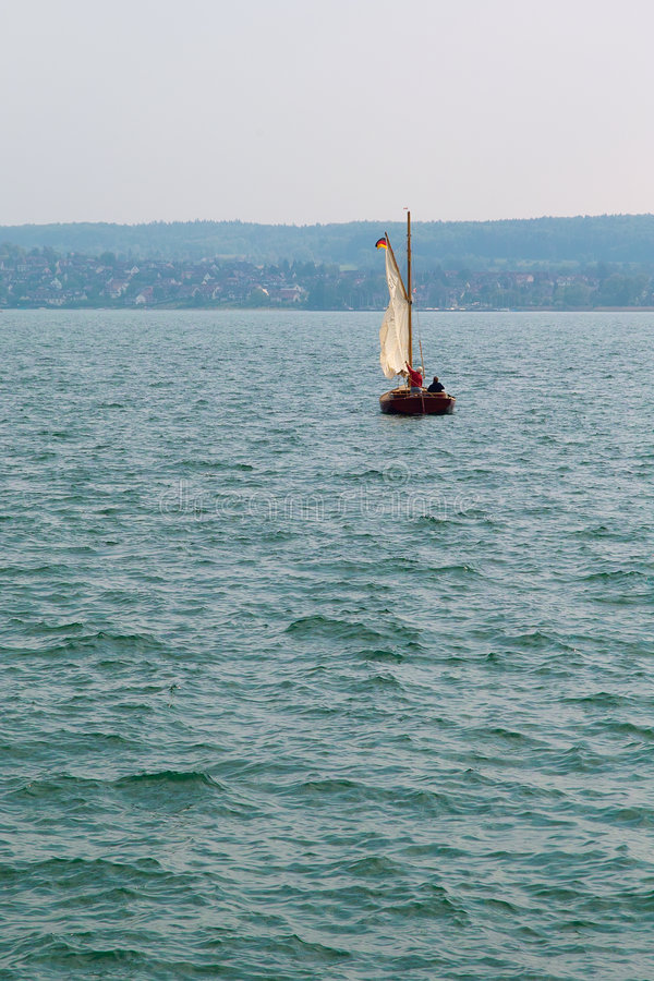 Download Sailboat stock photo. Image of blue, sailor, tourist, lake - 7643016