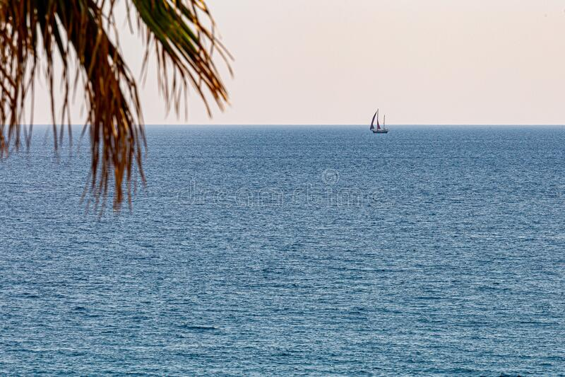 The sailboat stock photo