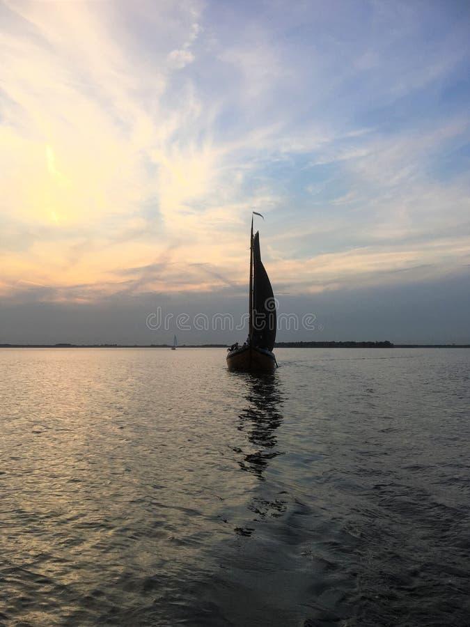Sailboat Botter Randmeren στοκ εικόνες