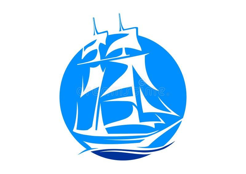 Sailboat club royalty free stock image