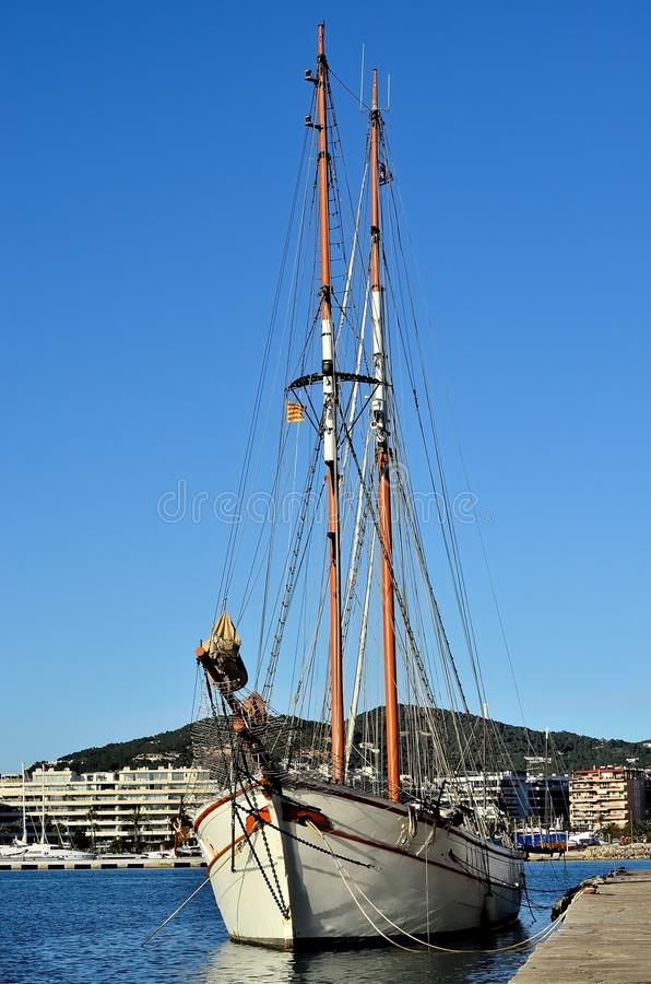 Download Sailboat stock photo. Image of port, sailboat, blue, boat - 34157670