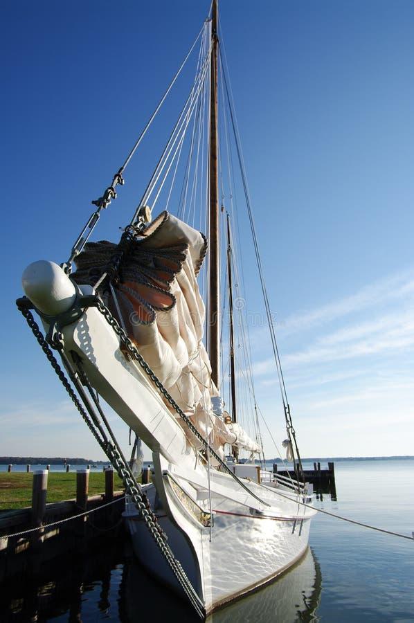 Sailboat dos Skipjack foto de stock