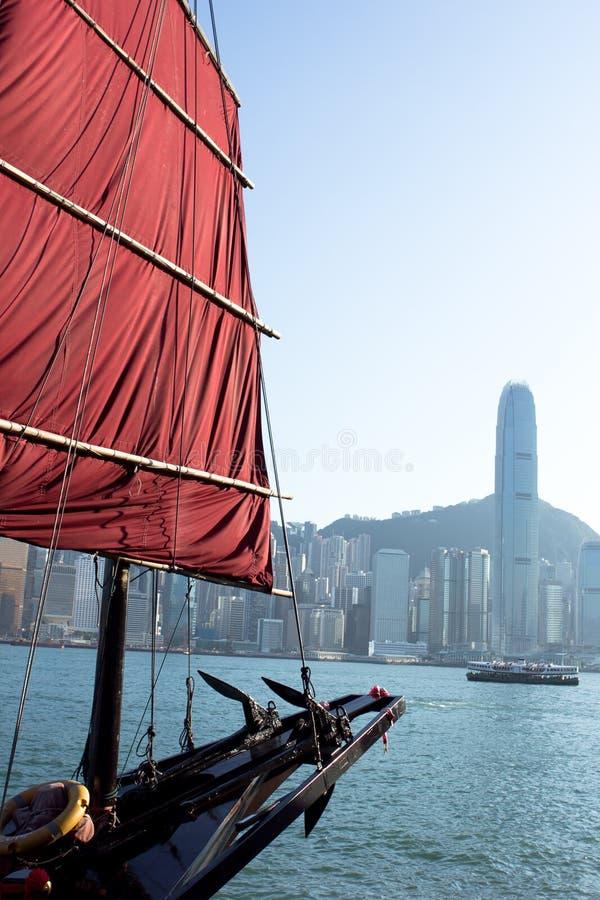 Sailboat Flag in Hong Kong