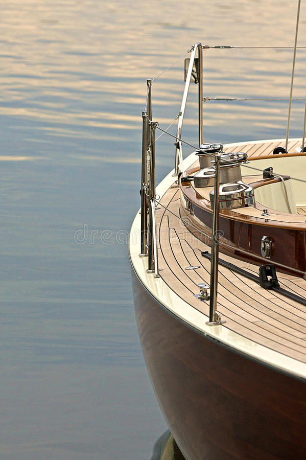 Download Sailboat in Harbour stock photo. Image of chrome, harbourfront - 31018266