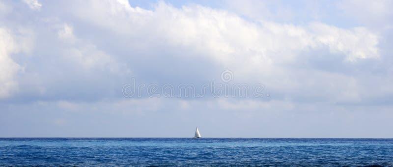 Download Sailboat on the horizon stock photo. Image of coastline - 3025164