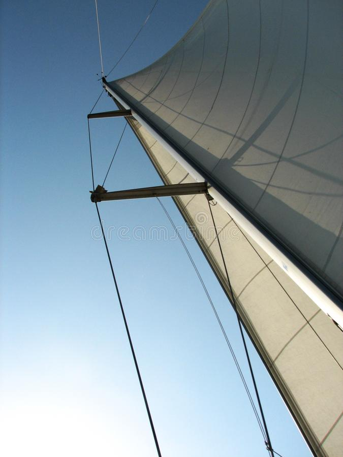 Download Sailboat Mast and Sail stock photo. Image of lifestyle - 6234564