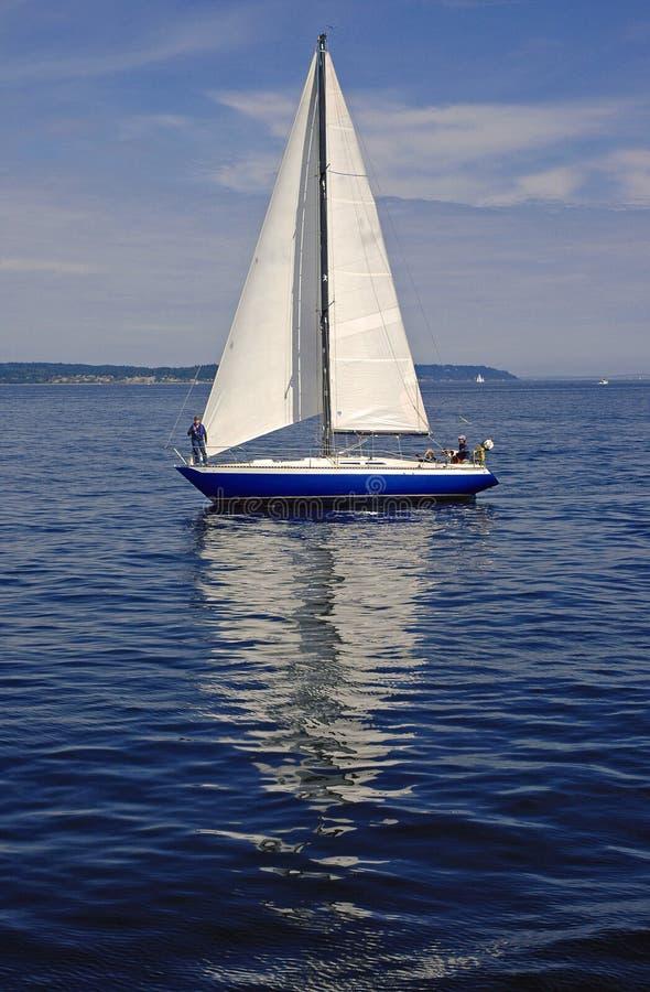 Free Sailboat Reflection Stock Photography - 1855022