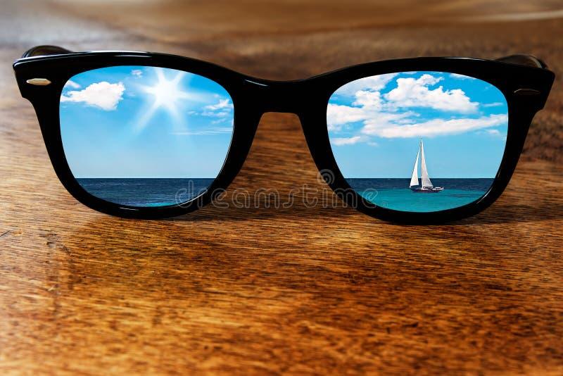 Sailboat Reflection royalty free stock image