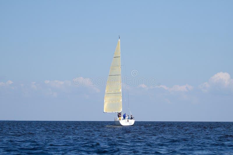 Download Sailboat sailing stock image. Image of recreational, lake - 23235611