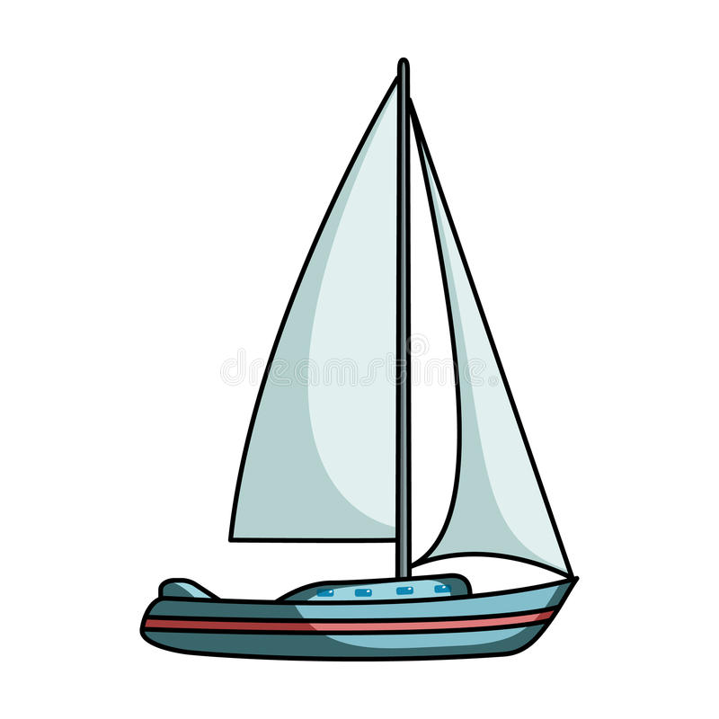 sailboat for sailing boat to compete in sailing ship and water rh dreamstime com sailboat cartoon picture sydney sailboat cartoon