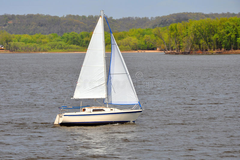 Sailboat Sailing stock photo