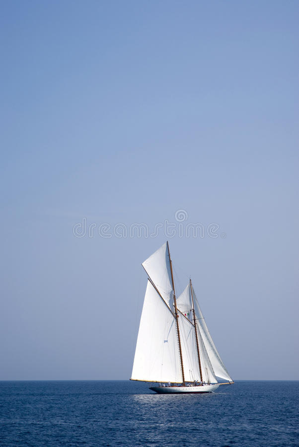 Download Sailboat on sea editorial image. Image of landscape, sail - 26628625