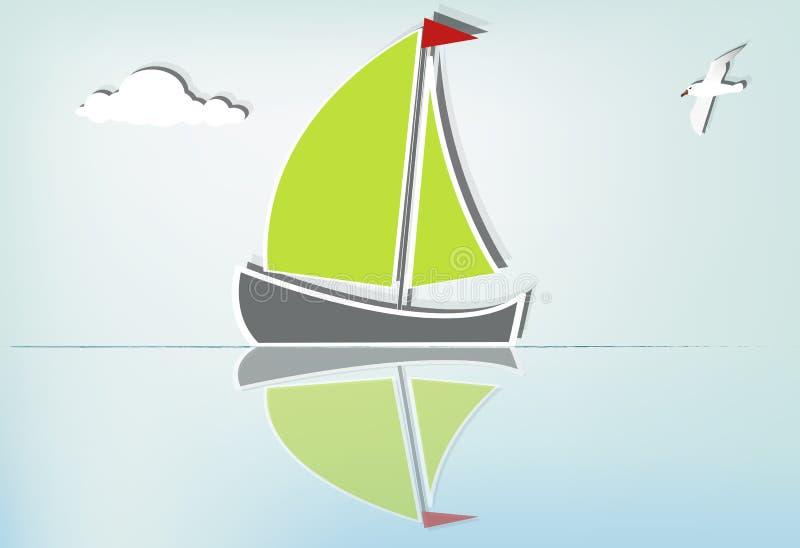 Download Sailboat Serene_Ib Stock Images - Image: 23995224