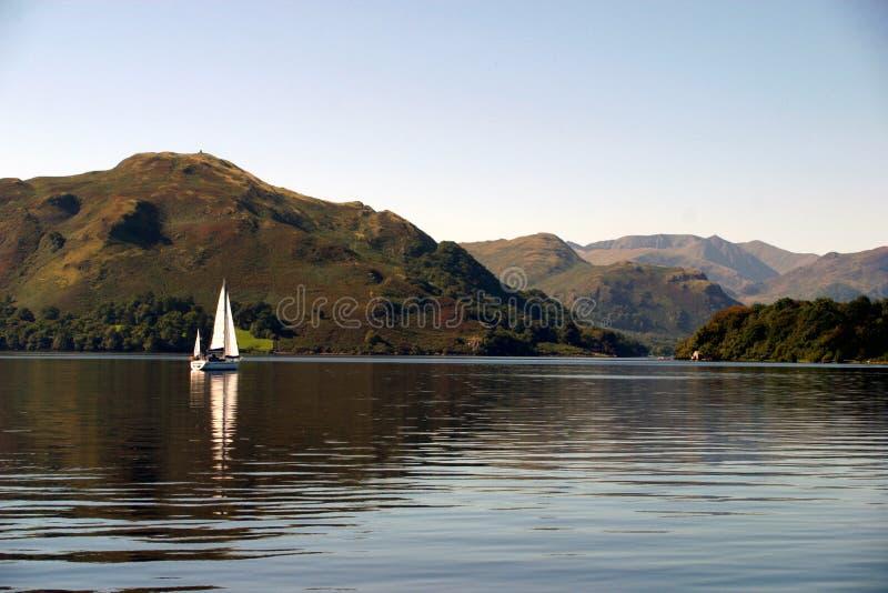 sailboat ullswater στοκ εικόνες