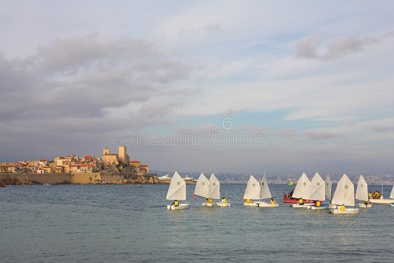 Sailboats #01 stock images