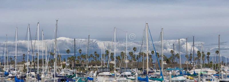 sailboats imagem de stock