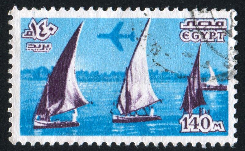 sailboats στοκ εικόνες