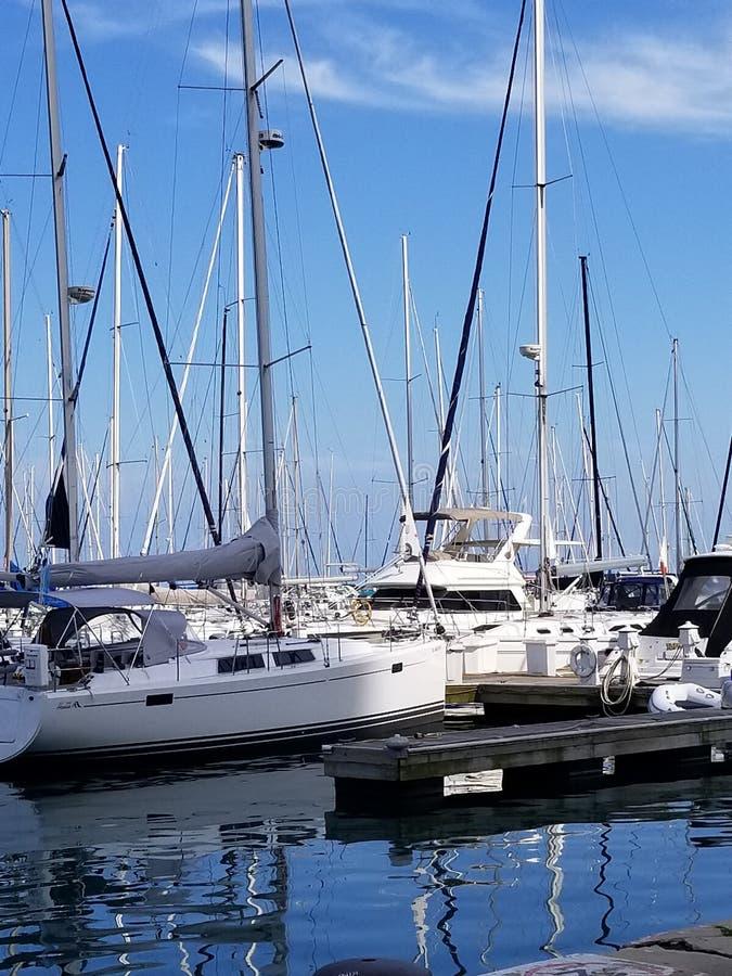 Sailboats royalty free stock photos