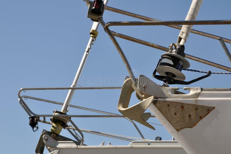 Sailboats Prow Details Stock Photos