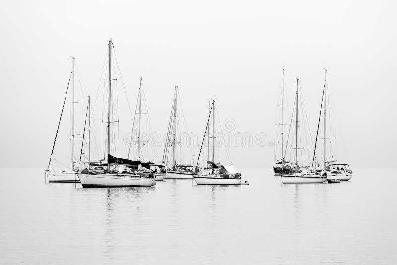 sailboats foto de stock