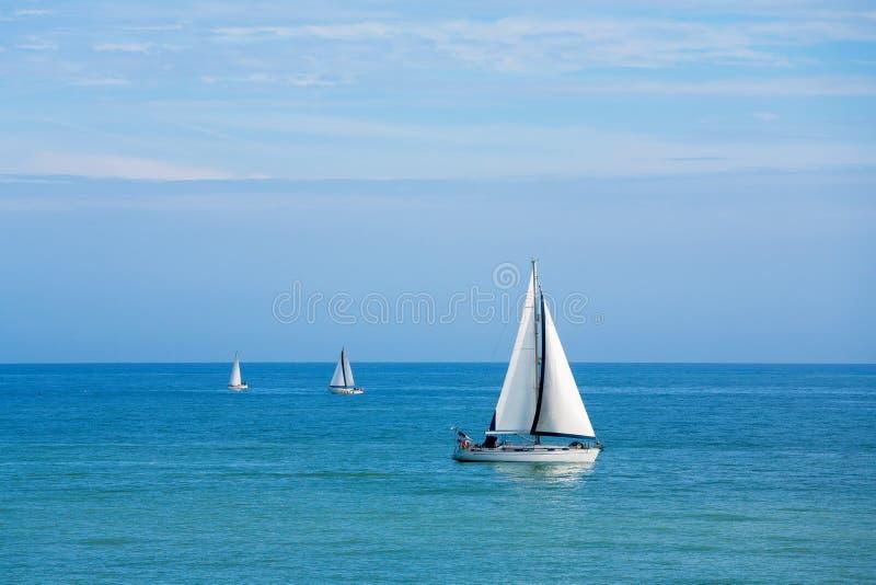 Sailboats Royalty Free Stock Photography