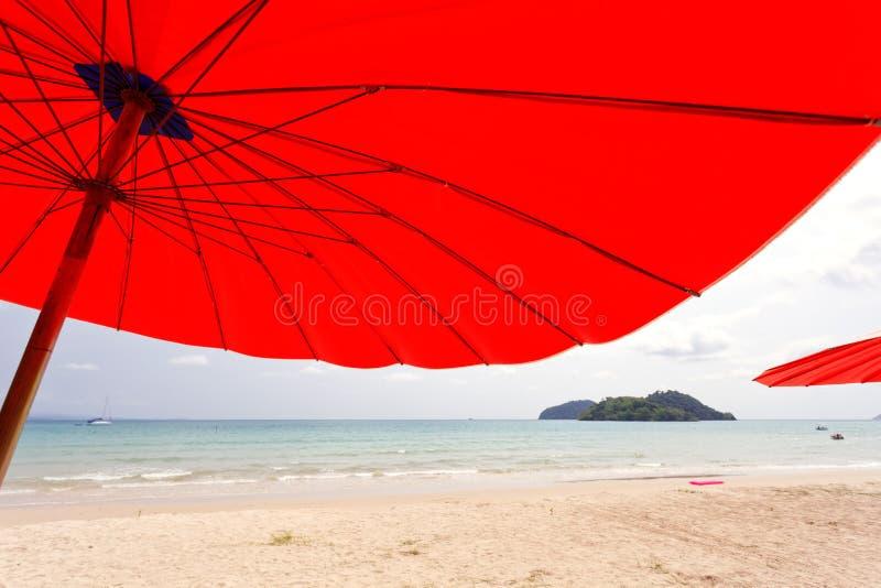 Sailer na praia fotografia de stock