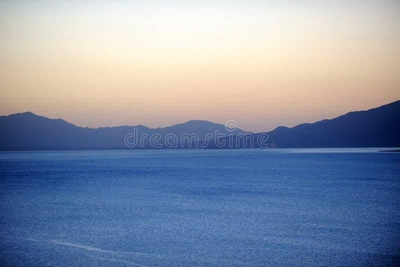 Sailimumeer bij zonsopgang royalty-vrije stock fotografie