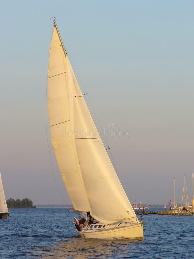 sailing гавани annapolis стоковое изображение