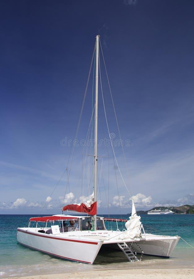 sailing рая стоковая фотография
