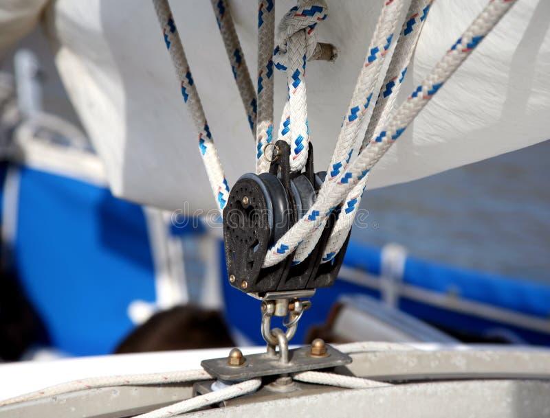 sailing шкива стоковые изображения rf