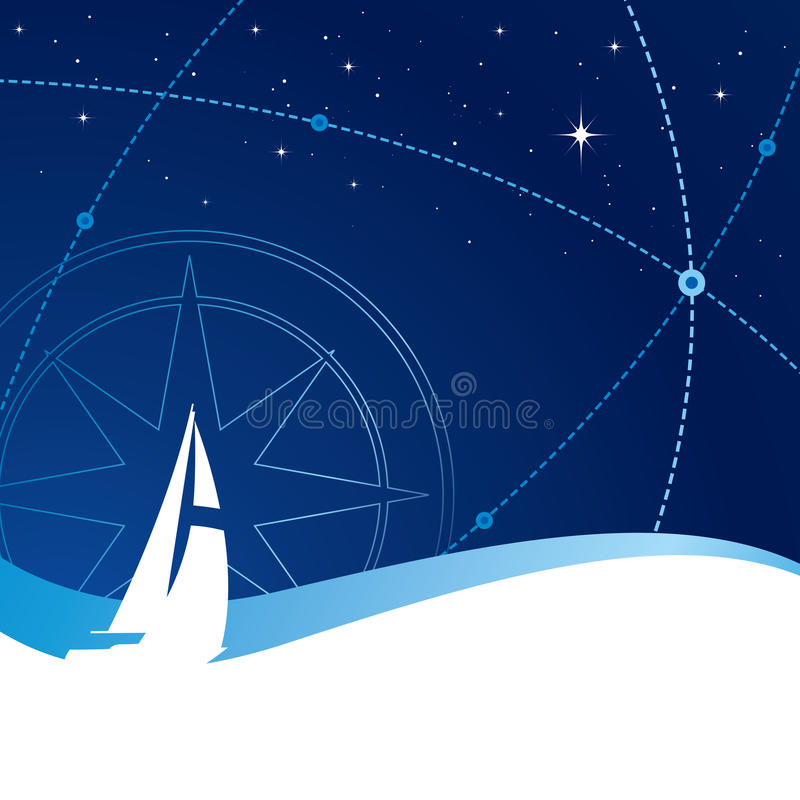 Download Sailing stock vector. Image of vitality, travel, blue - 10288706