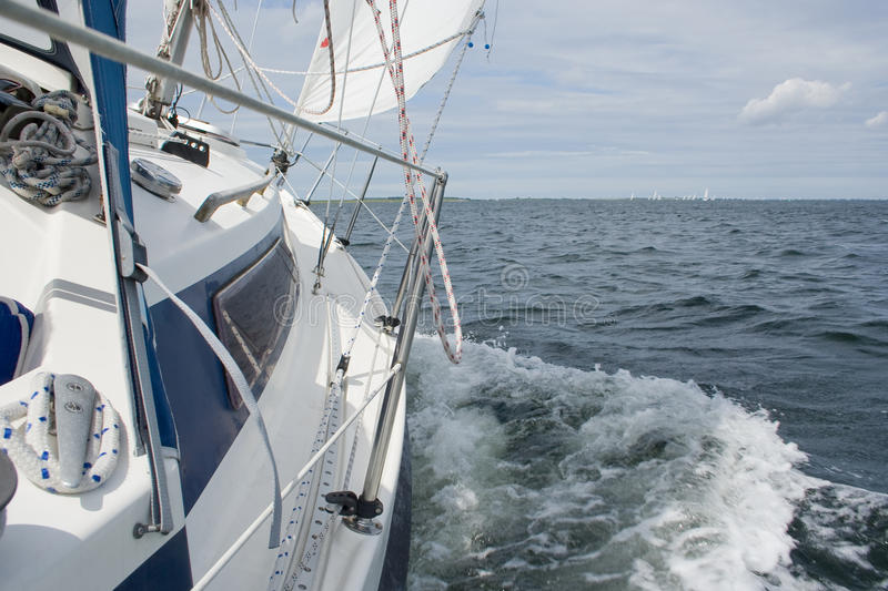 Download Sailing stock photo. Image of freedom, white, active - 12439454